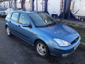 FORD FOCUS , 2003 , BRAND NEW CLUTCH + BRAKES, DRIVES GREAT , NO MOT , SPARES OR REPAIRS.
