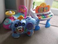 Toys Peppa pig ride on vtech elephant Fisher price piano