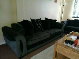 4 and 3 seater sofas