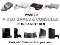 Video Games & Consoles Wanted