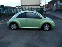 VOLKSWAGEN BEETLE 2.0 3dr FULL MOT***(LEATHER HEATED SEATS)***