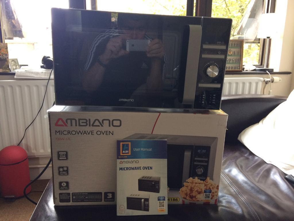 Aldi home sale catalogue special buys stirling 34l microwave oven - Aldi Ambiano Microwave Oven In Winchester Hampshire Gumtree