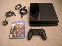 PS4 500GB - Plus Game and Controller