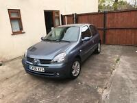 2006 Renault Clio For Sale - LOW MILEAGE - 10 Months MOT
