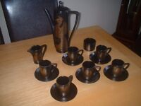 PORTMERION - PHOENIX- COFFEE SET- 1970's - JOHN CUFFLEY