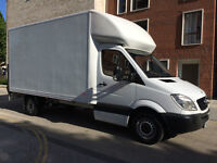 FOR SALE MERCEDES SPRINTER LUTON VAN 2010 313CDI LWB WITH TAIL LIFT NO VAT