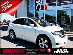 2014 Toyota Venza LIMITED 4WD BLANC PERLE