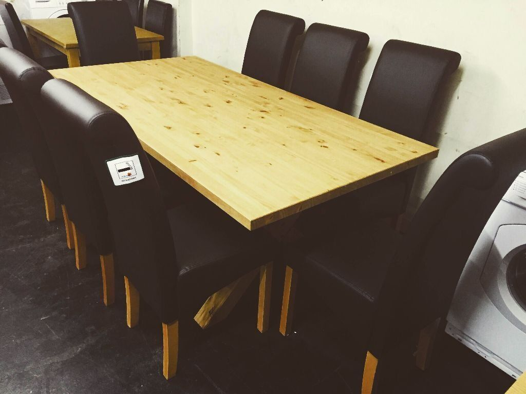 Argos Dining Room Furniture 50 Off Argos Price Hudson Pine 180cm Dining Table And 8 Chocolate