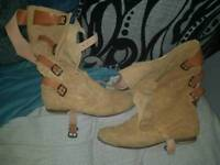 Vivienne westwood pirate boots in size 9