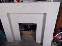 New beautiful Stone Fireplace and Hearth