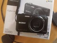 sony cybershot DSC-WX80 - USED 3 TIMES EXCELLENT CONDITION