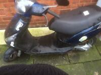 50cc piaggio zip moped