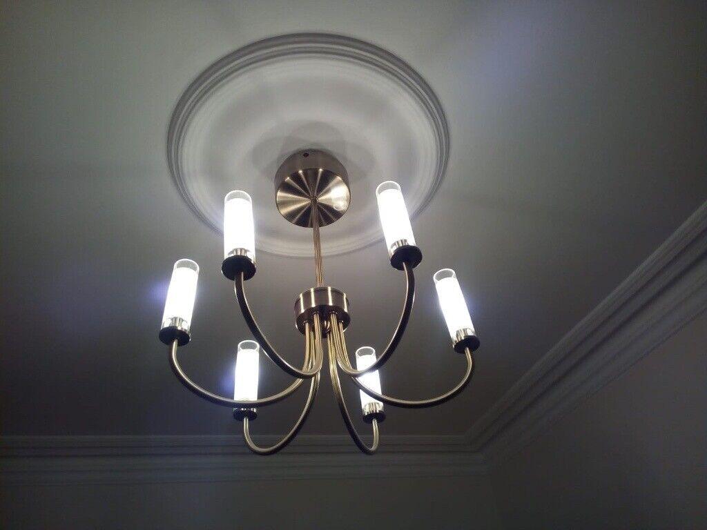 Modern Ceiling Lamps Chandeliers 6 Lights Matching Pair In Andersonstown Belfast Gumtree
