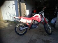 Yamaha xt600 1988. White and red. 27888 miles.