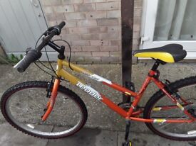 £35 lady/s bike all working in good condition26 wheel18 frame 18 gears can deliver for petrol cost