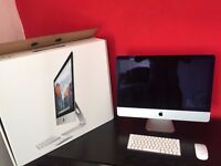 iMac 21.5-inch with Retina 4K display (3.1GHz quad-core i5). Purchased Oct 2016 PRICED TO SELL FAST