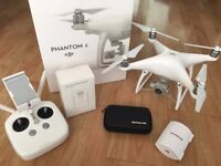 DJI Phantom 4 with Three Batteries and loads of Extras