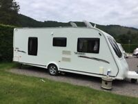Elddis Avante 540 2010 4 berth, fixed bed, end shower room, extras included, ready to go.