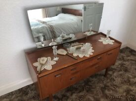 Antique Sideboard with mirror