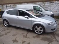 Seat LEON 2.0 TDI Sport,5 dr hatchback,6 speed manual,sports interior,runs and drives nicely,CX55VOK