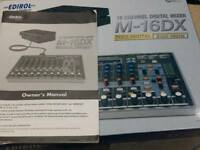 Roland M-16 DX Mixer, Studio Mixer, Roland Audio Interface