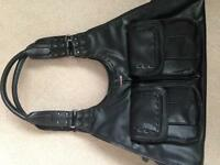 MEXX large black shoulder bag