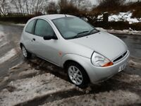 2001 ford ka lux .family owned from new .only 42k from new .. leather interior