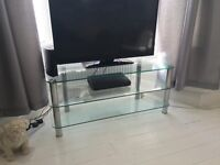 3 Tiered Glass TV Unit / TV Stand