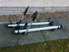 Thule Bike carriers (pair) 'Tour' model roof mounted