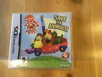 Nintendo DS game. Wonder Pets Save the Animals