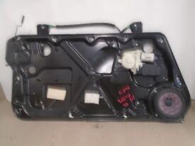 Volkswagen Beetle N/S Left hand Electric Window Motor + Mechanism