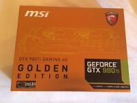 MSI GTX 980ti Gaming 6g (Golden edition)