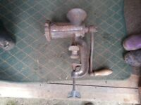Large cast iron mincer Empire no 20