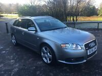 2006 56-Plate Audi A4 Avant 2.0 TDI S Line 5dr, Full Service History, Low Miles Immaculate Condition