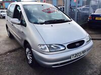 FORD GALAXY 2.3 GLX 7 SEATER PETROL AUTOMATIC AIR CON LOW MILEAGE CLEAN CAR 85000 MILES