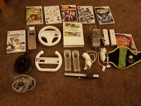 Nintendo Wii set plus games