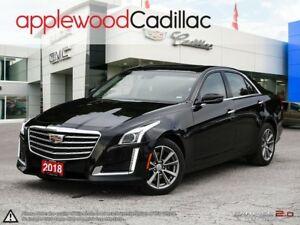 2018 Cadillac CTS 3.6L Luxury 3.6L V6, AWD, NAVIGATION, PANOR...
