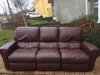 Electric recliner sofa. Delivery