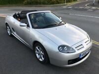 2002 MG MGF MGTF 1.8 135 SILVER CONVERTIBLE LOW MILEAGE IMMACULATE EXAMPLE