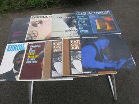 Jazz Piano LP's x 9