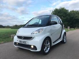 2012 SMART CAR FORTWO MHD - LOW MILES / 1 OWNER / HPI CLEAR / QUICK SALE / CHEAP