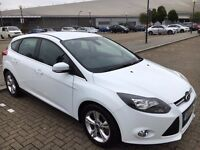 2013 FORD FOCUS 1.0 SCTi EcoBoost Zetec 125BHP 5 DOOR HATCHBACK MANUAL