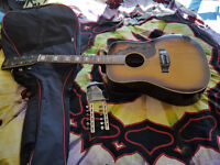 Acoustic Guitar Vintage Kay Gibson Hummingbird Copy Japanese 6 / 12 string 1970 s ?