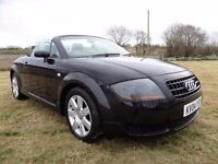 2004 AUDI TT CONVERTIBLE..150 BHP..MOTED TO SEPTEMBER..POSSIBLE PART EXCHANGE
