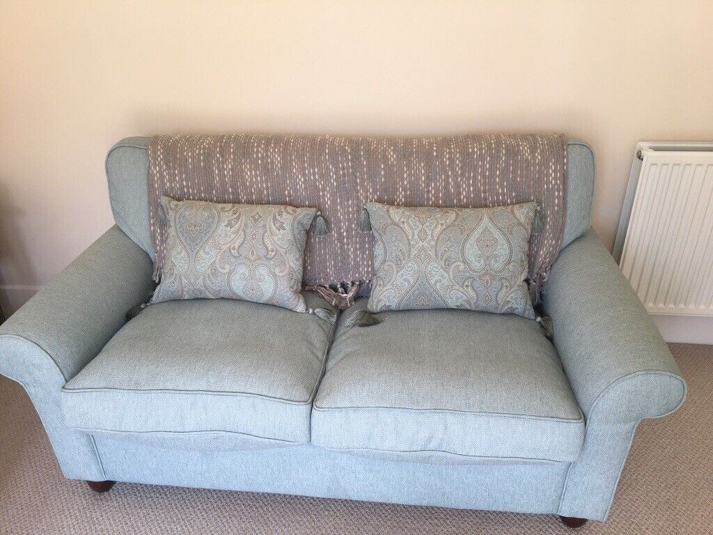 Laura Ashley sofas and a footstool | in Ampthill, Bedfordshire | Gumtree