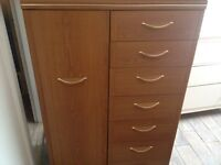 2 Chest of drawers.