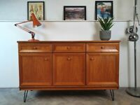 G Plan Albany Vintage Compact Mid Century Medium Teak Retro Sideboard #338