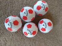 Golf balls Titleist, Callaway, Taylor made, Srixon Nike grade A