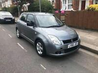 2006/56 SUZUKI SWIFT 1.5 GLX YEARS MOT LOW MILEAGE