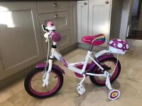 Apollo Pixie kids bike 14 inch with stabilisers
